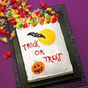get recipe trick or treat cake - Easy Halloween Cake Decorating Ideas