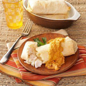 Turkey Mashed Potato Chimis