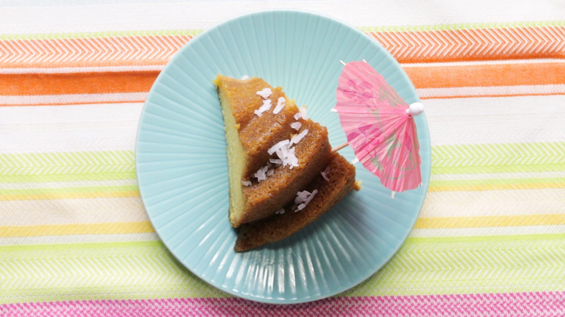 Watch Us Make: Caribbean Coconut Rum Poke Cake | Taste of Home