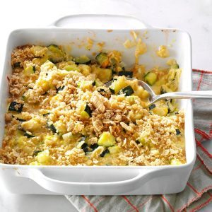 Zucchini & Cheese Casserole