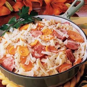 Bavarian Sausage Supper