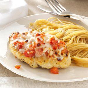 Inspired By: Olive Garden's Chicken Margherita