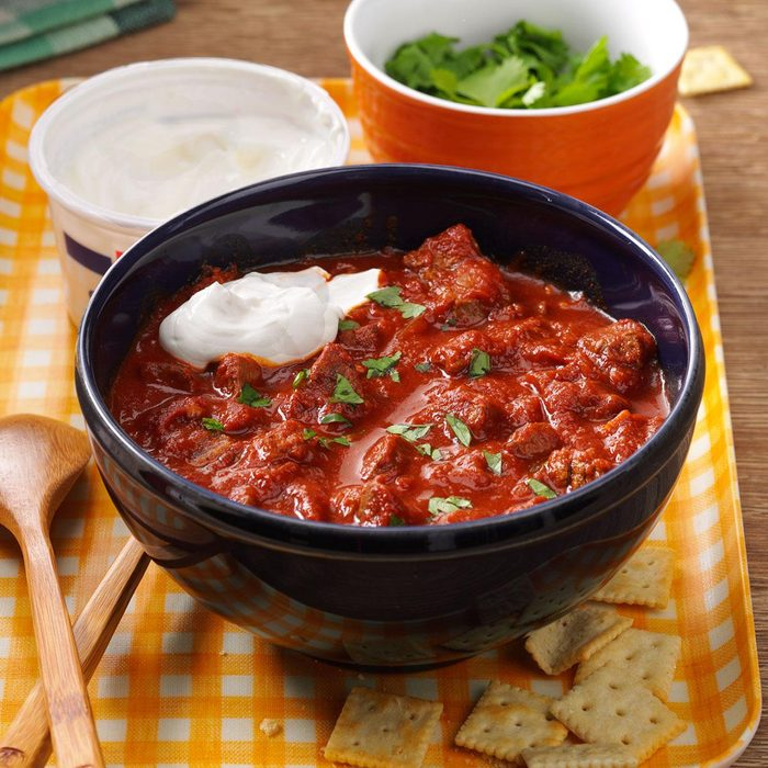 Chipotle Beef Chili