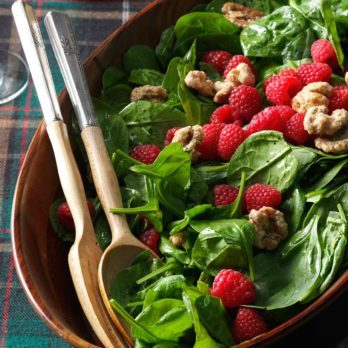 40 Super Fresh Spinach Salad Recipes