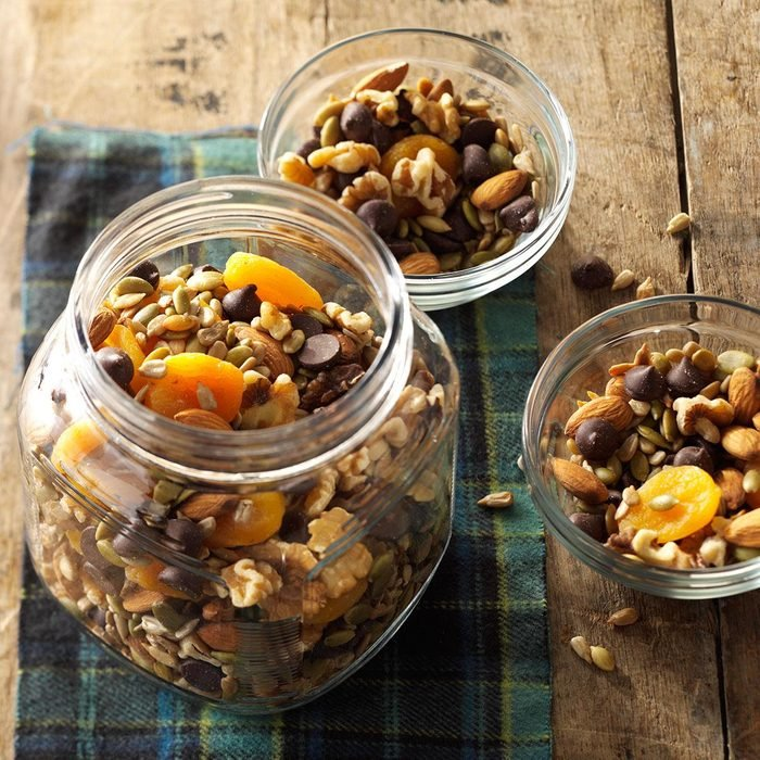 Seeds and nuts trail mix