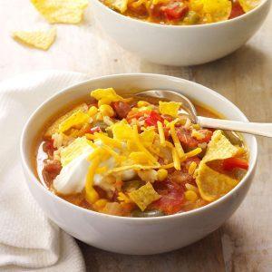 Weeknight Taco Soup