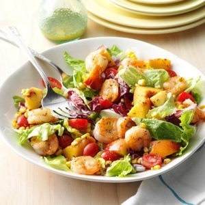 Shrimp & Nectarine Salad