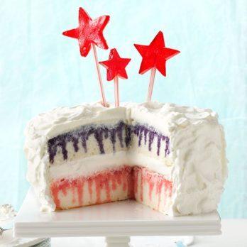 How to Make a Patriotic Poke Cake