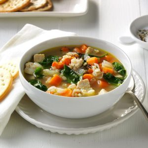 Turkey & Vegetable Barley Soup