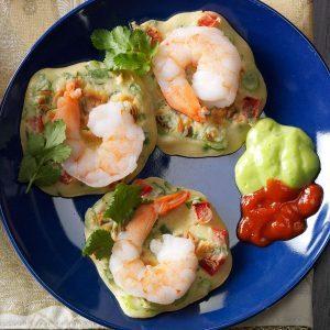 Asian Shrimp Pancakes