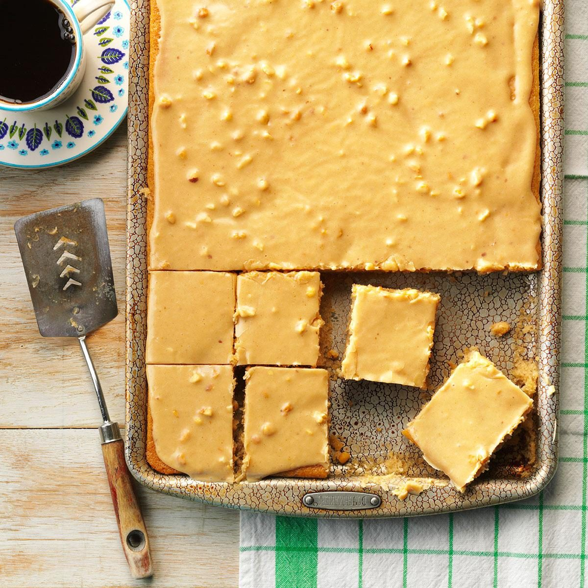 Easy Peanut Butter Sheet Cake
