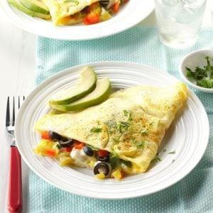 Sunday's Breakfast: Fiesta Time Omelet