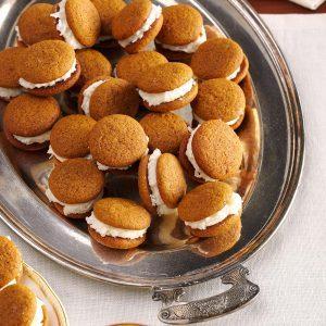 Gingersnap Coconut Creams