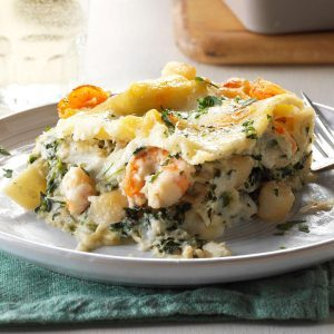 Inspired By: Olive Garden's Seafood Lasagna Saute