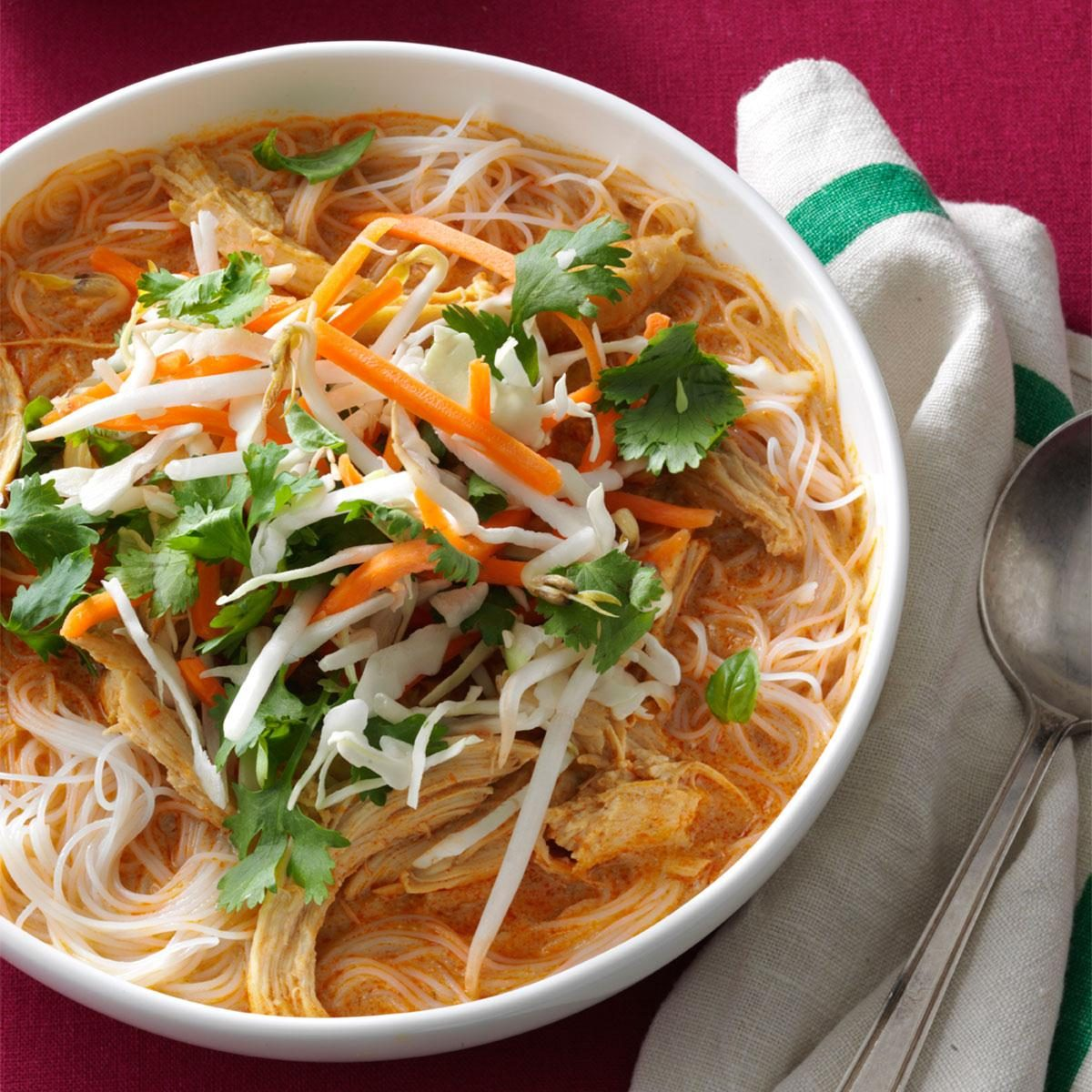 30 Chicken Noodle Soups From Around The World