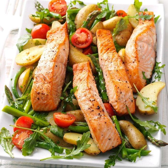 Salmon and Spud Salad