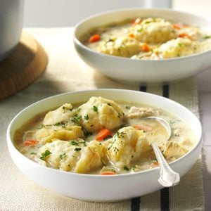 The Best Chicken and Dumpling Soup