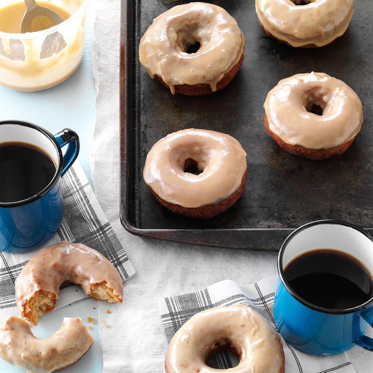Maple Glaze for Doughnuts