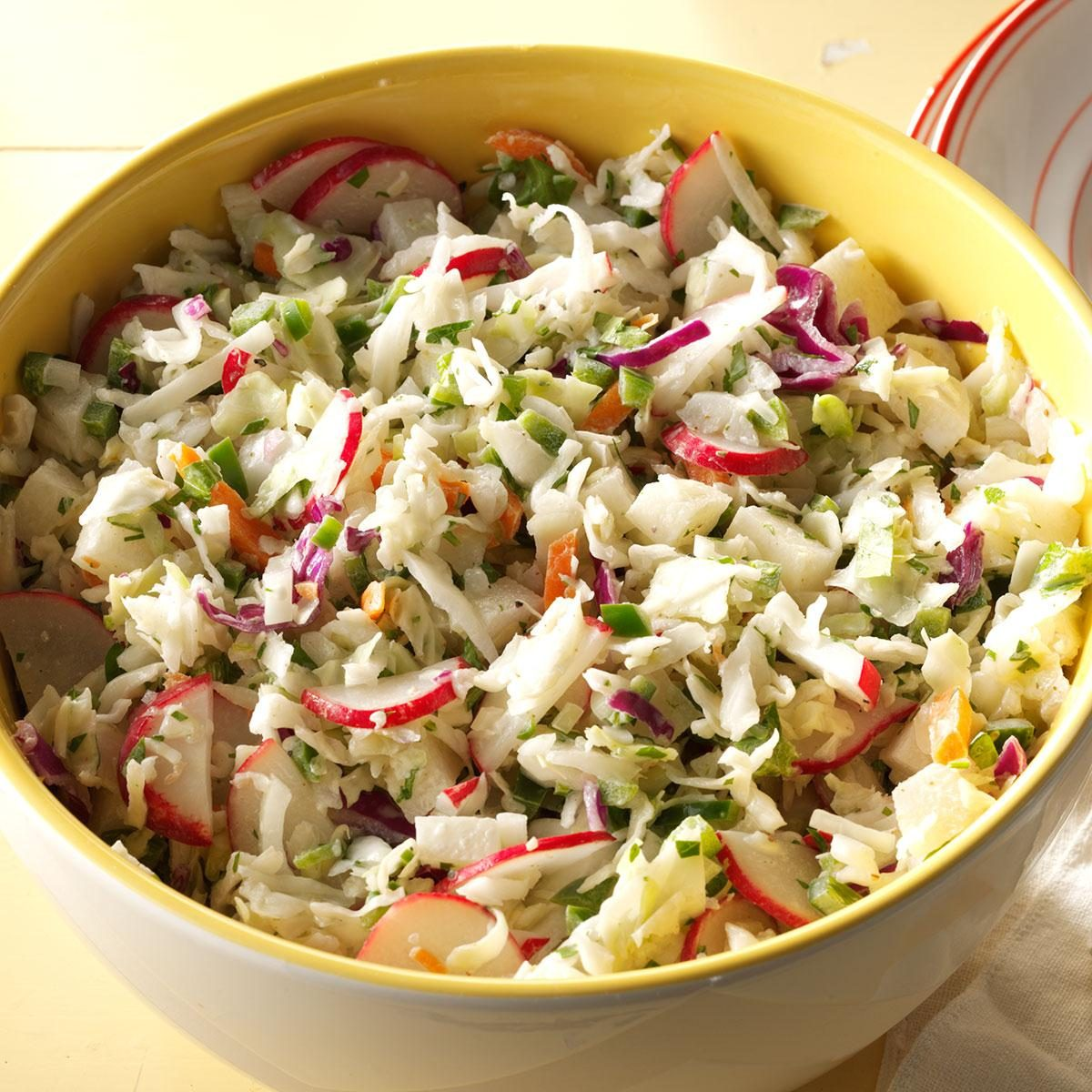 5 Tiny Swaps That Will Make Your Coleslaw Healthier