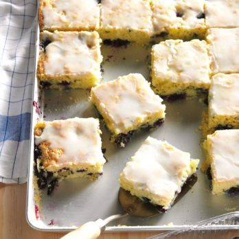 These Blueberry Zucchini Squares Will Win Any Potluck