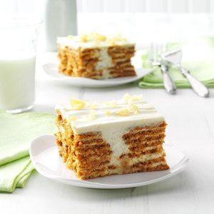 Lemon Ginger Icebox Cake