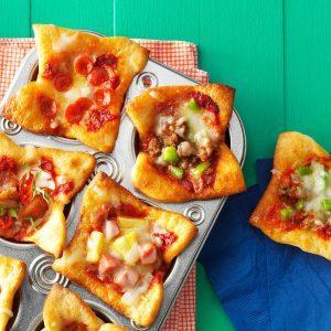 Mini Pizza Muffin Cups