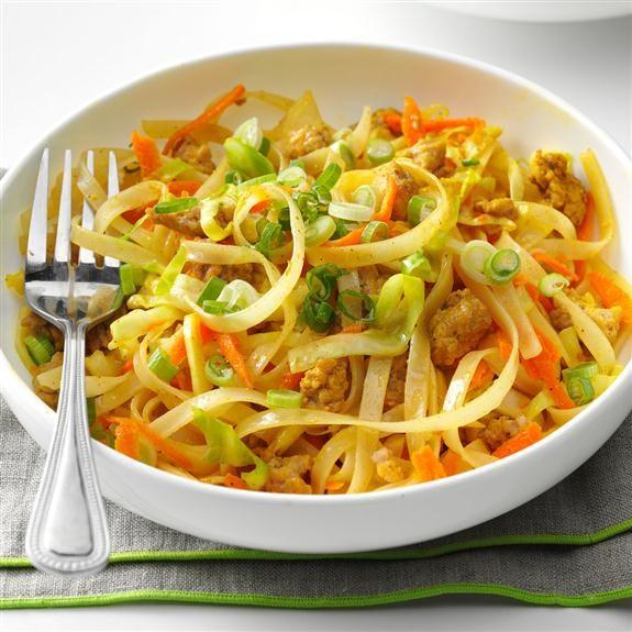 Egg roll noodle bowl