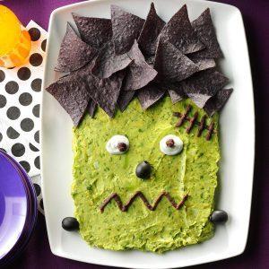 frankenguac - Halloween Snacks Party