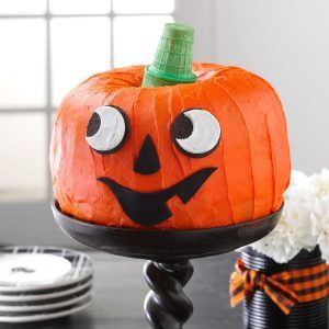 jack o lantern cake - Best Halloween Dessert Recipes