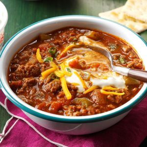 Hearty Slow Cooker Chili