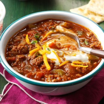20 Chili Recipes for Your Slow Cooker