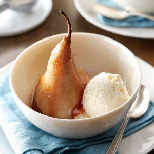 Burgundy Pears