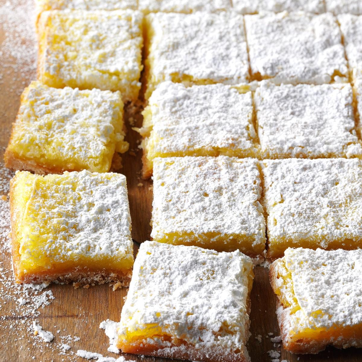 Our Top 10 Most Puckery Citrus Bar Recipes | Taste of Home