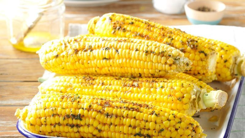 Easy way to cook corn