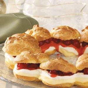 Cherry Cream Puff Ring
