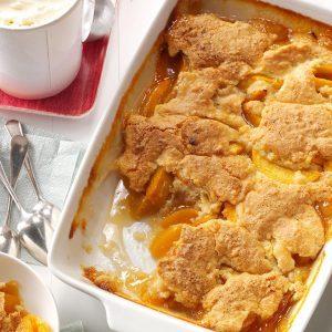 28 satisfying soul food recipes taste of home ivas peach cobbler forumfinder Choice Image