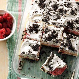Raspberry Ice Cream Delight
