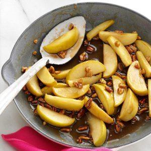 Caramel-Pecan Apple Slices