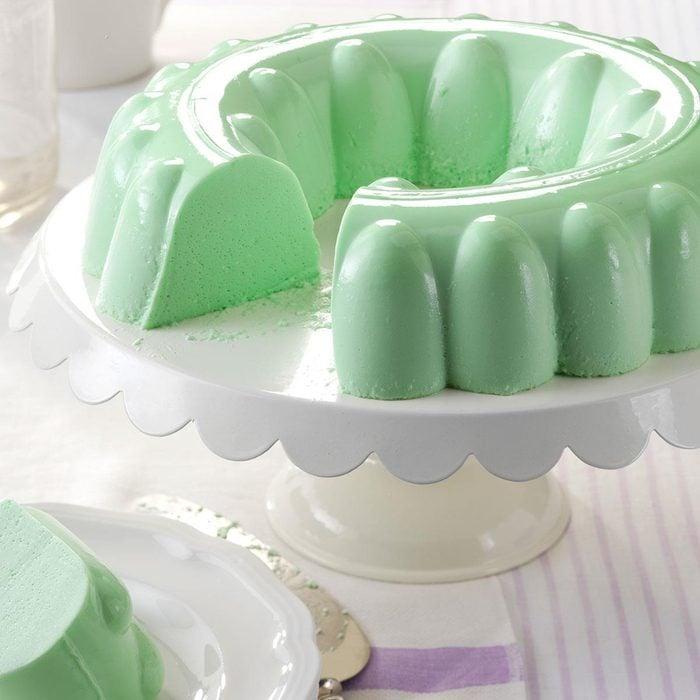 Simple lime gelatin salad
