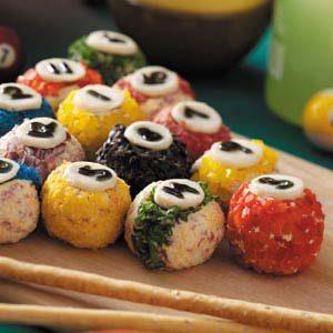 Rack 'em Up Cheese Balls