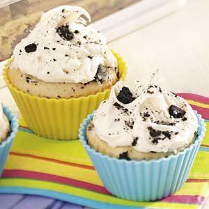 Chocolate Cookie Cupcakes