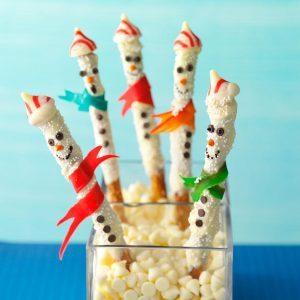 Sweet & Salty Snowmen