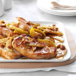 Cinnamon-Apple Pork Chops