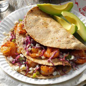 Feta Shrimp Tacos