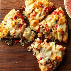 Shrimp & Crab Pizza