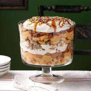 Pumpkin Toffee Trifle