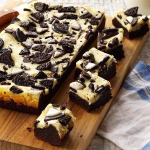 Cookies N Cream Brownies