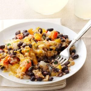 Black Beans with Bell Peppers & Rice