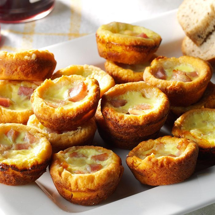 Muffin tin quiches