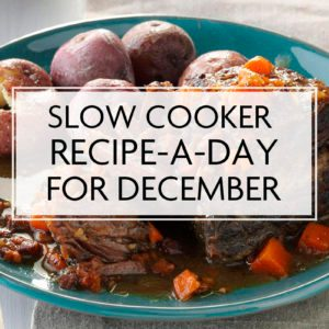 Slow Cooker Recipe-a-Day for December